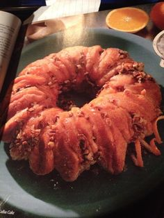 Nutty Orange Coffee Cake  (Note:  I omit the cream cheese)