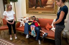 P072712SH-0686 | First Lady Michelle Obama greets former Oly… | Flickr