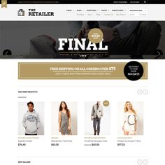 The Retailer Responsive eCommerce WordPress Theme | Best WordPress Themes Download 2013