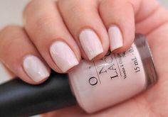 Pretty pearly pink nail polish