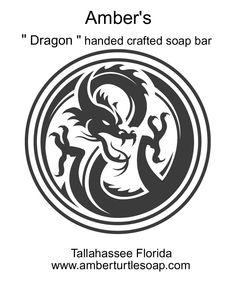 Logo / animal / Dragon soap bar