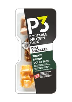 The more interesting way to get your protein. With a tasty and savory variety of meat, cheese, nuts, and fruit. Protein Pack, Protein Foods, Ham Breakfast, Makeup You Need, Veggie Snacks, Keto Recipes, Healthy Recipes, Keto Shopping List, Turkey Bacon