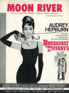 Audrey Hepburn à la Breakfast at Tiffany's, because women just aren't like her anymore.
