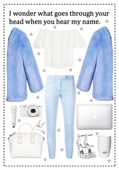 A fashion look from March 2017 featuring off-shoulder tops, utility coat and skinny trousers. Browse and shop related looks. Givenchy, Valentino, Rodin, Off Shoulder Tops, Copenhagen, Giuseppe Zanotti, Trousers, Fashion Looks, Skinny