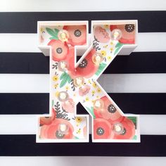 Get Heidi Swapp marquee letters at Target and add your favorite paper. Add lights and voila! Marquee Letters, Marquee Lights, Diy And Crafts Sewing, Diy Crafts, Summer Crafts, Crafts For Kids, Craft Projects, Projects To Try, Heidi Swapp