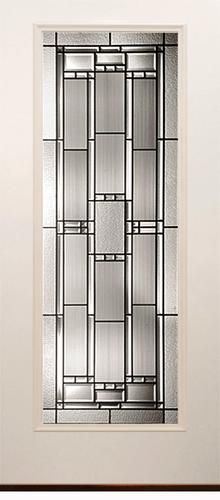 Shop Benchmark By Therma Tru 32 In Craftsman 6 Lite Clear Black Outswing Fiberglass Entry Door