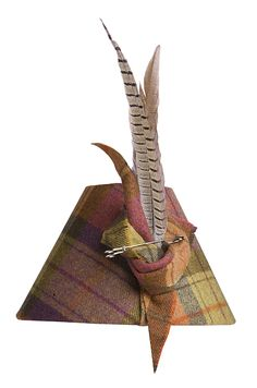 Pheasant Feather Tartan Lampshade | Table Lamps and Shades | Meltons