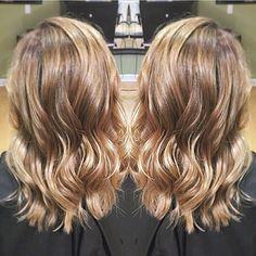 brunette to blonde, or vice versa! Shoulder length for summer