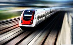 High Speed Train HD desktop wallpaper : High Definition ...
