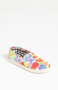 TOMS 'Classic - Youth' Slip-On (Toddler, Little Kid & Big Kid) available at Nordstrom