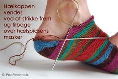 toe up heel
