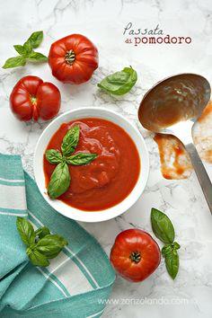 Come preparare la conserva salsa passata di pomodoro a casa ricetta - homemade tomato sauce for pasta recipe