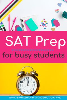 Getting Ready for the SAT — Team Pasch Academic Coaching Sat Test Prep, Act Prep, Note Taking Strategies, Note Taking Tips, School Planner, School Schedule, School Tips, Homeschool High School, Homeschooling