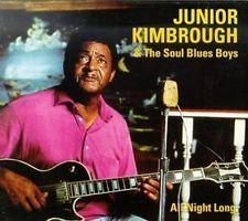 All Night Long - Junior & Soul Blues Kimbrough (Vinyl Used Very Good)
