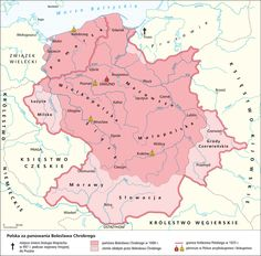 POLAND - Territorial comparison of the reigns of Mieszko I & Boleslaw the Brave Croatia Travel, Thailand Travel, Italy Travel, Bangkok Thailand, Poland Map, Germany Poland, Poland History, Alternate History, Historical Maps