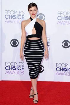 SÍ Y NO: La red carpet de los People's Choice Awards KATHARINE MCPHEE