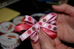 Becoming Classy and Sophisticated: Tutorial: How to make hair bows UPDATED!!