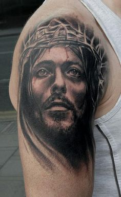 Black Cross Tattoos, Cross Tattoo For Men, Cross Tattoo Designs, Leg Tattoo Men, Dad Tattoos, Tattoos For Guys, Sleeve Tattoos, Cool Tattoos, Jesus Tatoo