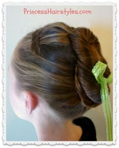 Image result for flower girl hairstyle princess ana