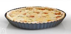 Aspergequiche - In de categorie simpel maar wel lekker: een aspergetaart van witte asperges ('het witte goud'), cherrytomaten en Provençaalse kruiden. Lekker als lunch of als diner met een salade. Lees het recept via de bron!