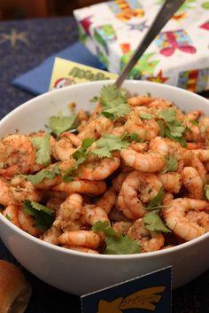 Italian Kiwi - Marinated Shrimps With Tomato Salsa - Italian Kiwi
