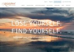 Kiawah Island | CSS Website#awwwards.com #bestwebdesign #webdesign #inspiration More web design inspiration at http://startsite.co