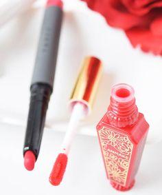 これであなたも真っ赤なじゅわリップ♡ CANMAKEのティントシロップの人気色にリップペンシルを使ったアレンジをしてみませんか? Canmake, Icing, Favors, Lips, Makeup, Face, Desserts, Beauty, Fashion