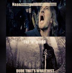 i laughed way harder than i should have!! #LOTR