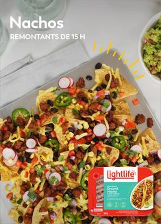 Easy Dinner Recipes, Appetizer Recipes, Easy Meals, Appetizers, Mexican Food Recipes, Vegetarian Recipes, Healthy Recipes, Ultimate Nachos, Salades Taco