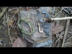 Primitive Technology:used-Build FISHING ROD-Primitive Life! - YouTube