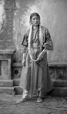 Shooting Star, Dakota by David Frances Barry (Antique photo of Native American).