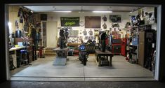 High Quality Motorcycle Garages