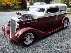 1934 Chevy sedan JR Fitzgerald