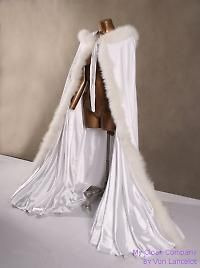 snow queen  winter cloak