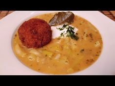Sárga hüvelyű babfőzelék vajbab főzelék / Szoky konyhája / - YouTube Cheeseburger Chowder, Thai Red Curry, Risotto, Soup, Ethnic Recipes, Anna, Youtube, Food Food, Soups