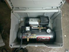 (2) Compressor in a systainer