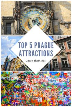 Planning a trip to Prague, Czech Republic? Check out these top 5 tourist attractions that are absolute must-sees for this magical city!