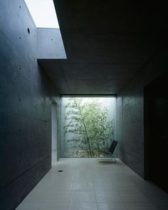 Via thehardt House In Kakinokizaka by Satoshi Okada, located in one of the most prestigious residential areas in Tokyo, Japan. this modern 4,897 ft² (455 m²) family home was designed by Japanese Architects Satoshi Okada for a successful entrepreneur who is passionate about cars, his wife, and daughter. The owner's requirements were to design a reinforced concrete structure with an exposed concrete finish and a high ceiling living room, same way like a fortification. And most importantly, the…