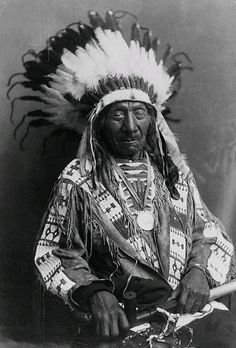 """criminallyinnocent:    """"The fire of hope almost went out; we have to rekindle it.""""  - Mahpiua Luta aka Red Cloud"""