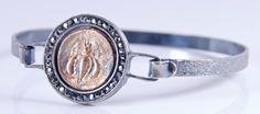 Ancient Coin Bracelet  Ephesus Bee 24K GP  by ARTemisDesignsLLC