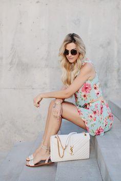 Short Floral com Cropped Floral | Look Delicado e Romântico. Inspire-se