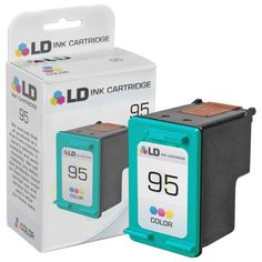 Remanufactured Replacement for Hewlett Packard C8766WN (HP 95) Tri-Color Ink Cartridge: Save money with our remanufactured tri-color ink…