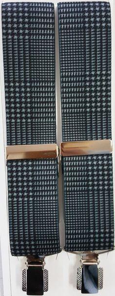 Gales gris pinza sencilla plateada