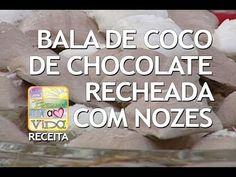 De Bem Receitas - Bala de coco recheada com nozes (14/11/2013) - YouTube