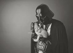 Kansas City Newborn Photography Star Wars Darth Vader baby photo Anna-marie Photography