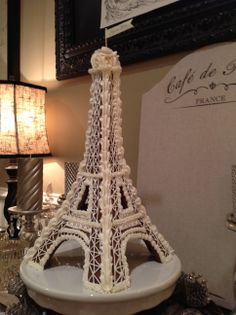 Gingerbread Eiffel Tower - Made this for Christmas 2013
