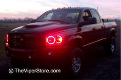 Dodge RAM Headlight accessories and Parts Black Headlights, Luz Led, Dodge, Trucks, Accessories, Led Light Bars, Truck, Jewelry Accessories