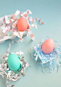 DIY Easter Nesting Three Ways