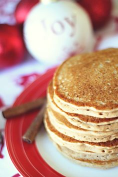 Gingerbread Pancakes recipe (healthy)