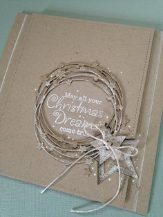 Freshly-Made Sketches 311 – Christmas DIY Holiday Cards Homemade Christmas Cards, Homemade Cards, Handmade Christmas, Christmas Crafts, Christmas Tree, Christmas Card Making, Xmas Cards Handmade, Christmas Island, Christmas Vacation
